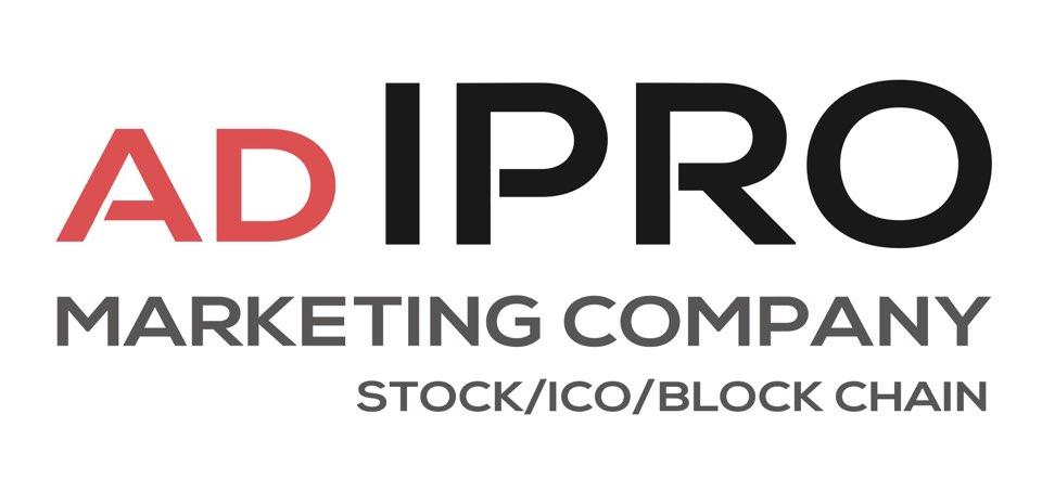 ㈜ 애드아이프로 (ADIPRO) 광고시행회사 로고